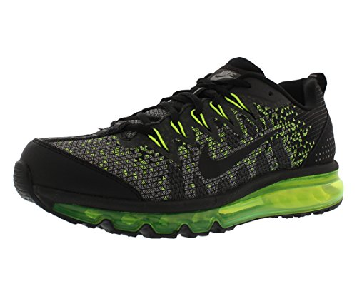 09 Running Shoe (Nike Air Max 09 Jacquard Men's Running Shoes Size US 9.5, Regular Width, Color Black/Grey/Volt)