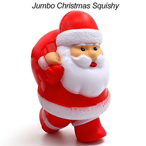 55bf2bae42c59 Bekker Squishies Jumbo Slow Rising Squishies Christmas Santa Claus Squishy  Cream Scented Charms Kawaii Squishys Christmas Gifts For Kids and Adults -  Buy ...