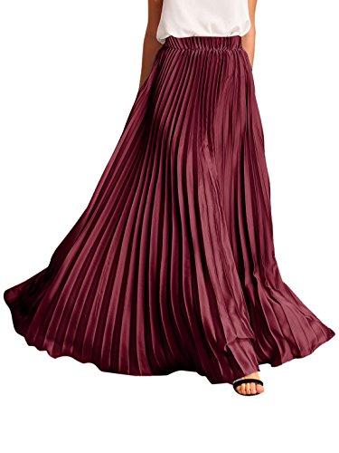 Full Skirt Pleats Skirt - 9