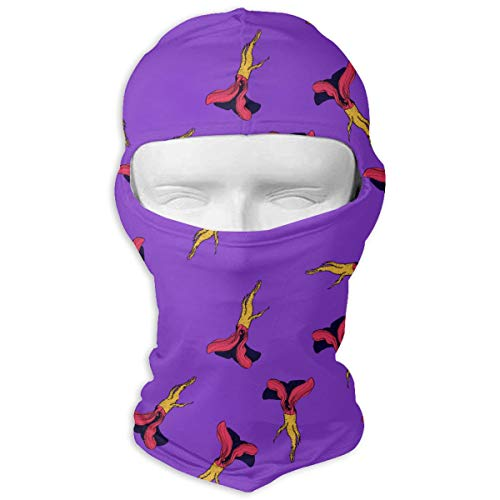 UV Protection Face Mask for Cycling Outdoor Sports Full Face Masks Horseradish Vibrant Coloured Balaclava Hood Skullies White -