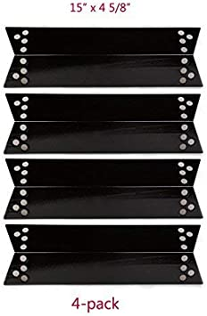 4-Pack BBQ Grill Heat Shield Plate Tent Parts for Tera Gear 1010007A
