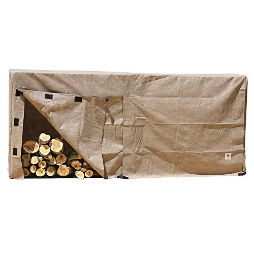 Duck Covers Elite Log Rack Cover, 100-Inch