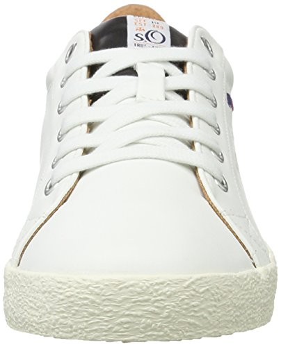 White 13604 Blanc Homme s Oliver Sneakers Basses Yz0q50