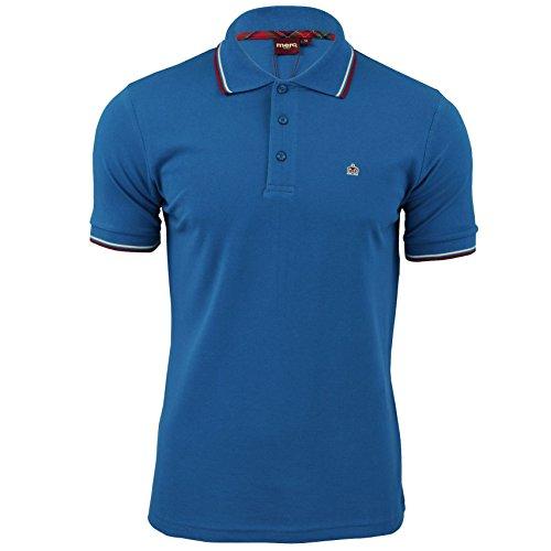 Bright Blue Merc Card Shirt Da Polo Uomo qwOzwBX