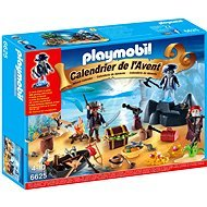 nextradeitalia Cajas & Puzzle Playmobil 6625 Advent Calendar Pirate Treasure Island