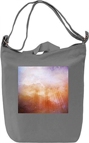 Stars in The Sky Full Print Borsa Giornaliera Canvas Canvas Day Bag| 100% Premium Cotton Canvas| DTG Printing|