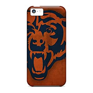 Premium ACfwbcq3878RRetx Case With Scratch-resistant/ Chicago Bears Nfl Team Case Cover For Iphone 5c