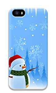 christmas PC Case Cover for iPhone 5 and iPhone 5s 3D Thanksgiving Day gift