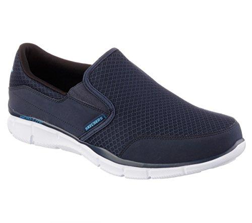 (Skechers Sport Men's Equalizer Persistent Slip-On Sneaker, Navy, 10.5 M US)