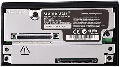 Zerone Adaptador De Red SATA Interfaz Disco Duro IDE HDD 2.5 Pulgadas 3.5 Pulgadas para PS2 Tarjeta De Red Compatible
