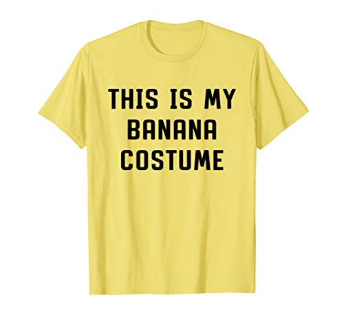 This Is My Banana Costume Halloween Funny -