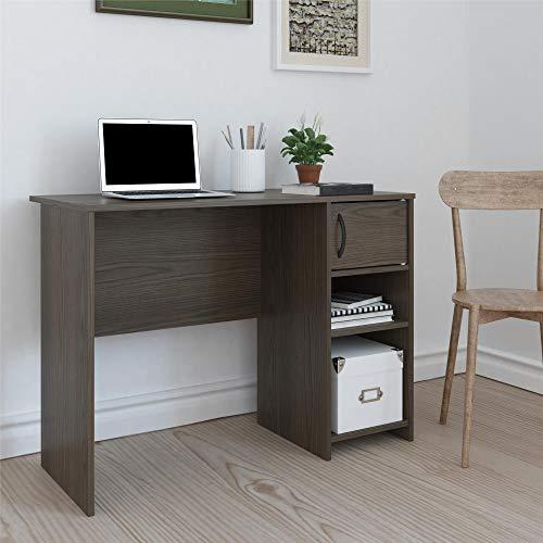 Ameriwood Home RealRooms Tally Computer Desk, Medium Brown