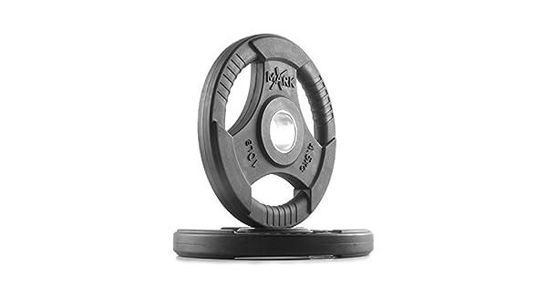 Amazon.com: XMark Fitness Premium Quality Rubber Coated Tri ...