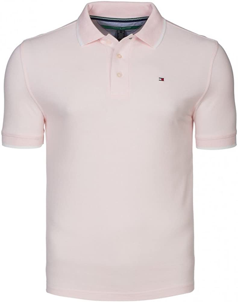 Tommy Hilfiger - Polo - para Hombre Rosa Rosa Large: Amazon.es ...