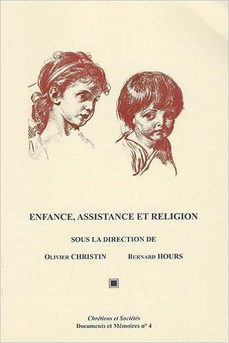 Téléchargement Enfance, assistance et religion epub pdf