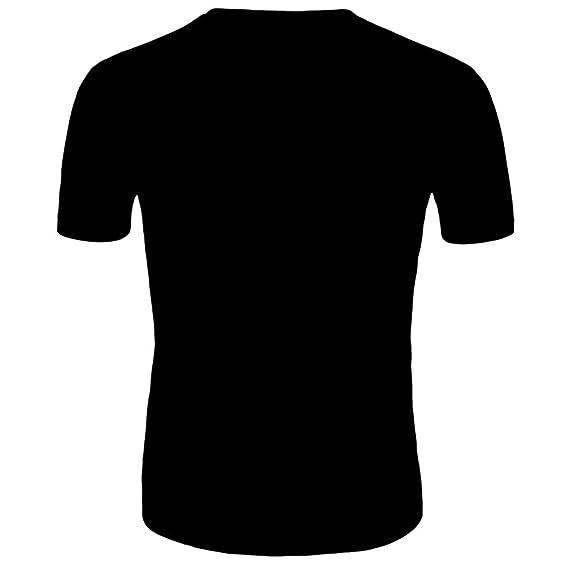 Hombre camiseta T-shirt manga corta,Sonnena ❤ Chaleco de hombre 3D Fórmula Tiger Print Camisa informal de manga corta Blusa superior: Amazon.es: Hogar