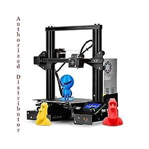 3 idea Imagine Create Print Creality Ender-3 UPGRADED Open Source 3D Printer Easy to Assemble DIY Kit, Standard