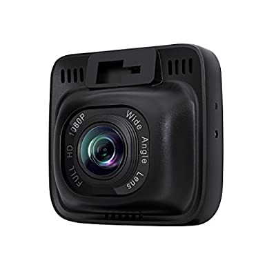 """AUKEY Dash Cam, Dashboard Camera Recorder with Full HD 1080P, 6-Lane 170° Wide Angle Lens, 2"""" LCD and Night Vision"""
