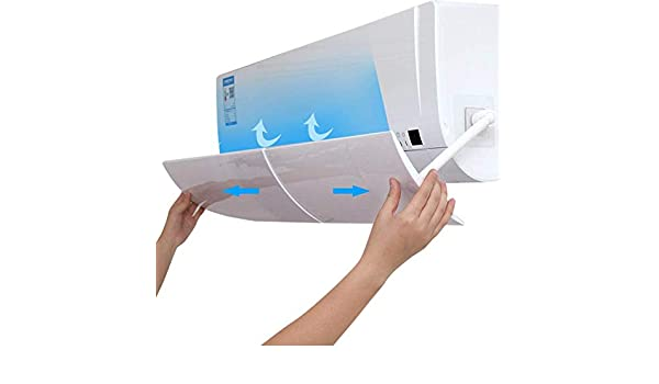 Wnuanjun, Conveniente Anti Directo Que sopla Aire Acondicionado retráctil Escudo Aire Acondicionado frío Deflector de Viento Deflector (Color : As Show): Amazon.es: Hogar