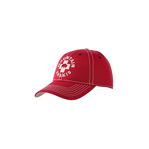 Patrol Cap Khaki (Mountain Khakis Adult Bison Patrol Cap, Red, One Size)