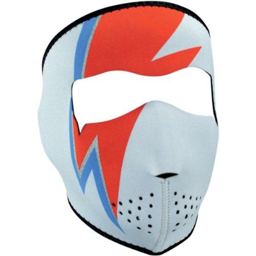 Zan Headgear Neoprene Full Face Mask , Primary Color: Blue, Size: OSFM, Distinct Name: Bowie, Gender: Mens/Unisex WNFM070