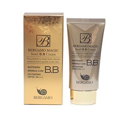 [Bergamo] Magic Snail BB Cream 50ml /Intense Care Lightening Wrinkle Care Sunblock / Korean Cosmetics