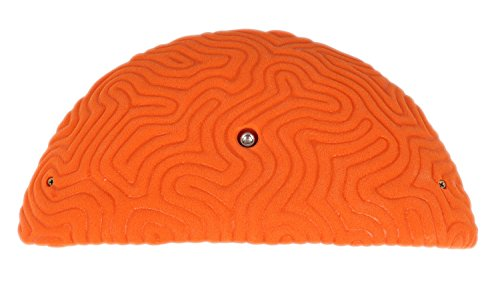 XXXL Brain Coral Ledge #1 | Climbing Holds | Orange by Atomik Climbing Holds