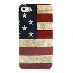 QYF US National Flag Design Hard Case for iPhone 4 / 4S
