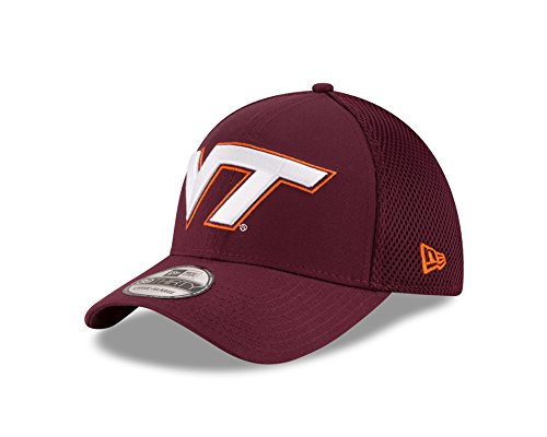 Virginia Tech Hokies Cap (NCAA Virginia Tech Hokies Men's Mega Team Neo Stretch Fit Cap, Maroon,)