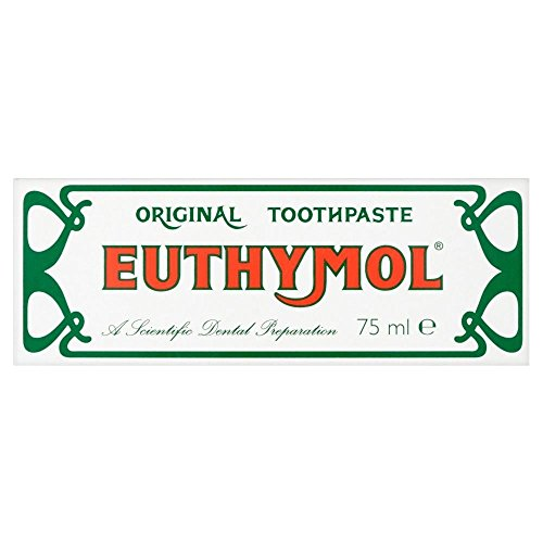 75 Ml Toothpaste - 12 x Euthymol Original Toothpaste 75ml