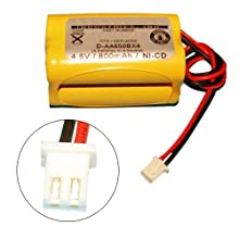 Lighting Battery for Lithonia D-AA650BX4 Exit Sign - Squared