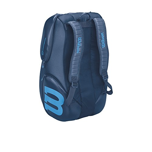 Vancouver Racket Bag, Ultra Collection - 15 Pack (Blue) by Wilson (Image #3)