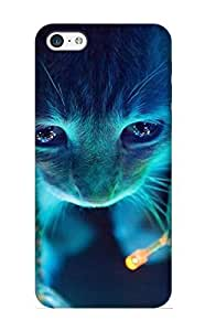 meilinF000New Animal Cat Tpu Skin Case Compatible With iphone 5/5s/ Perfect DesignmeilinF000