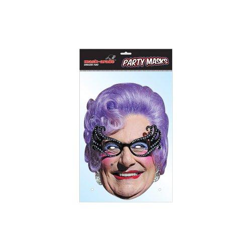 Dame Edna Everage Celebrity Face Card Mask, Mask-arade,Impersonation/Fancy Dress (Dame Edna Costumes)
