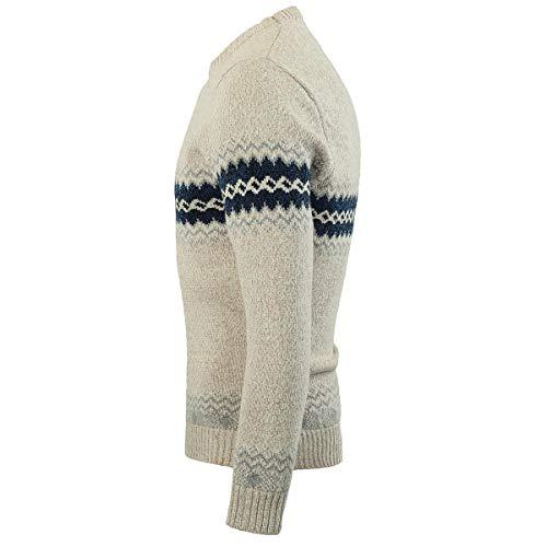 En Sweater Beige Sweat Manches Allthemen Pull Tricot Coton Longues over Uni D'hiver Pull Homme D'automne BwxpEqAFPx