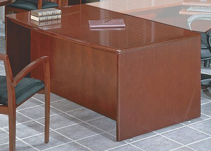 72' Bow Top (Sonoma Collection 72'' Bow Top Desk [SONTYP1-FS-OS])