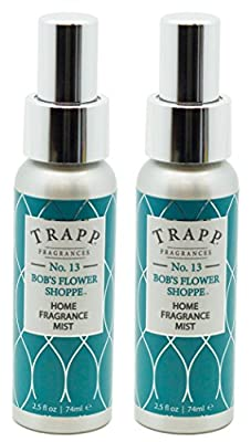 Trapp Home Fragrance Mist, No. 13 Bob's Flower Shoppe, 2.5-Ounce (2-Pack)