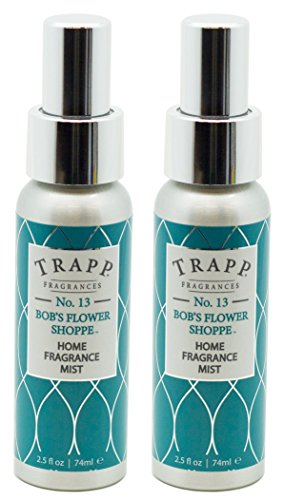 - Trapp Home Fragrance Mist, No. 13 Bob's Flower Shoppe, 2.5-Ounce (2-Pack)