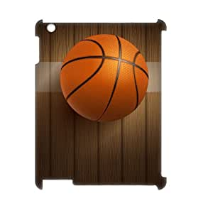 C-QUE Basketball Pattern 3D Case for iPad 2,3,4