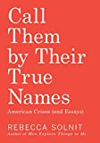 Image of Call Them by Their True Names: American Crises (and Essays)