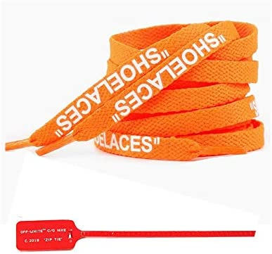 Shoelace Flat with Zip Tie Off White