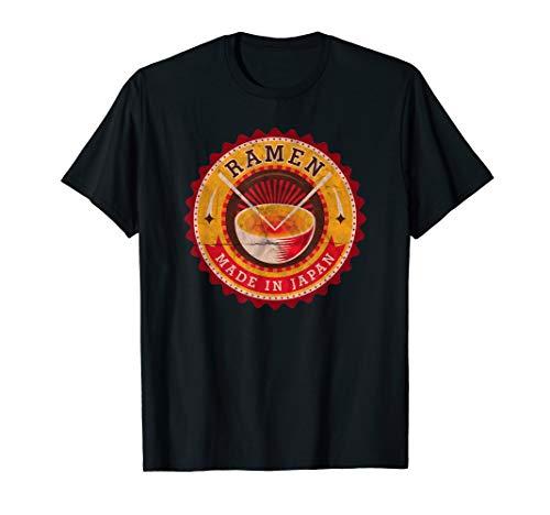 Vintage Made In Japan Ramen T Shirt