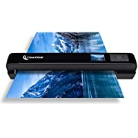 ClearClick Portable Photo & Document Scanner – No Computer Required – Runs on AA Batteries or USB Power – 1.4″ Instant Preview Screen
