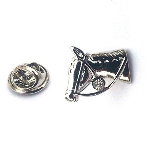 Equestrian Horse Pin - Horse Head, Equestrian Lapel Pin Badge