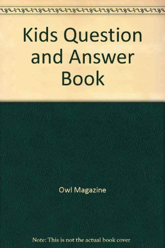 Kids Question and Answer Book