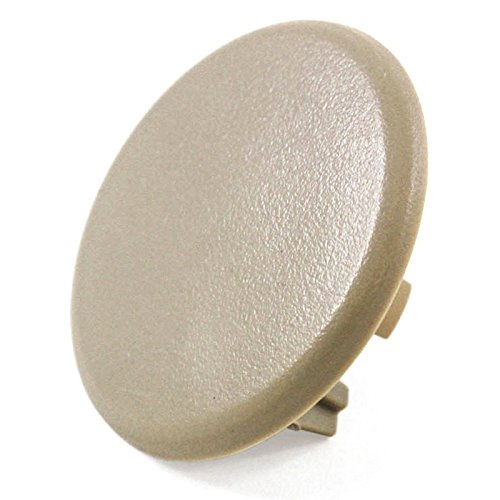2007-2014 Compatible with Chevrolet/Chevy/GMC/GM Silverado Sierra Tahoe Suburban Rear Armrest Plastic Cover Cap Cashmere Tan Trucks & SUVs Arm Rest Snap