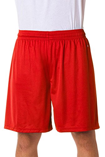 4109 Badger performance 22,9 cm shorts Red Small