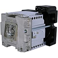 AuraBeam Professional Replacement Projector Lamp for Mitsubishi VLT-XD8600LP With Housing (Powered by Philips)