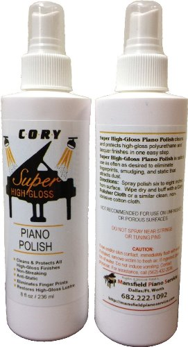 Price comparison product image Super High Gloss Piano Polish 8 oz by Cory,  Distributed by A Fully Authorized Cory Products Dealer