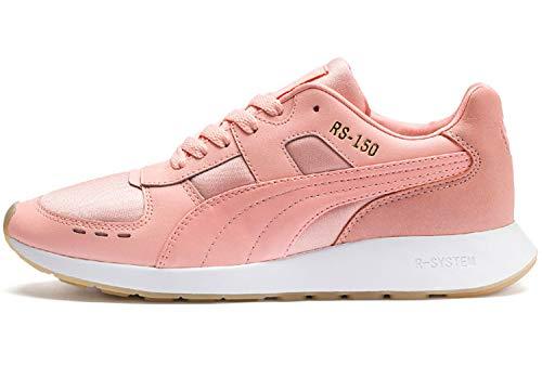Bud Wn's Basses peach 150 Rose peach Rs Satin Femme Sneakers Bud Puma nzXZt7wgt